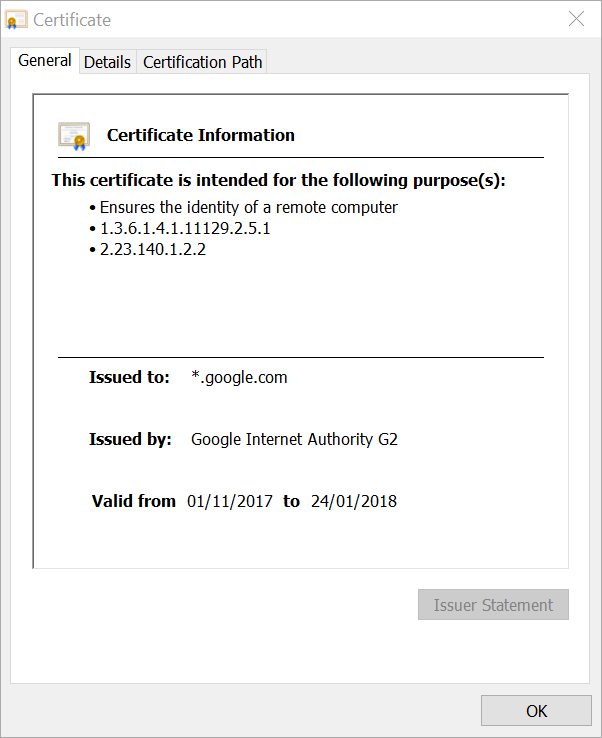 Dangers of using wildcard certificates